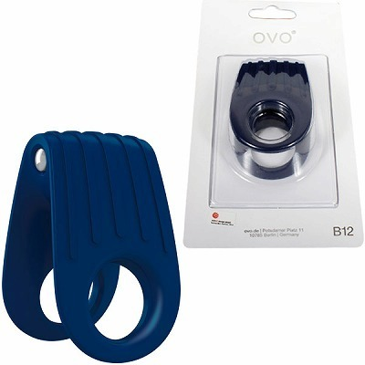 OVO B12 VIBRATING RING BLUE
