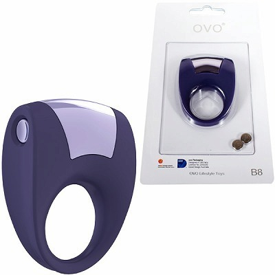 OVO B8 VIBRATING RING LILAC